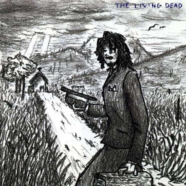 『BUMP OF CHICKEN - K』収録の『THE LIVING DEAD』ジャケット