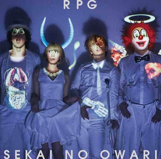 『SEKAI NO OWARIRPG』収録の『RPG』ジャケット