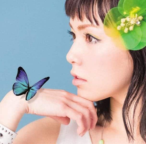 『中ノ森文子 - flower』収録の『flower』ジャケット