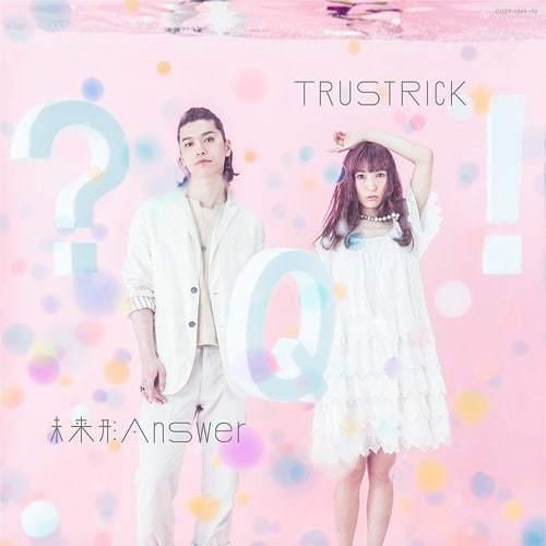 『TRUSTRICK - 未来形Answer』収録の『未来形answer E.P.』ジャケット