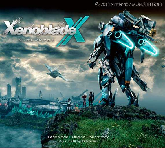 『Mika Kobayashi Your Voice 歌詞』収録の『Xenoblade Chronicles X Original Soundtrack』ジャケット