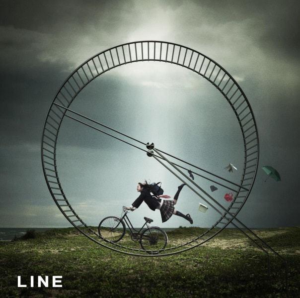『スキマスイッチ - LINE』収録の『LINE』ジャケット