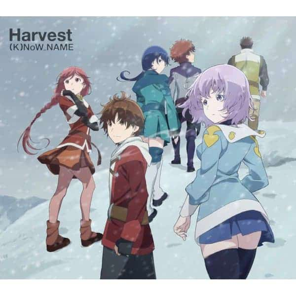 『(K)NoW_NAME - rainy tone』収録の『Harvest』ジャケット