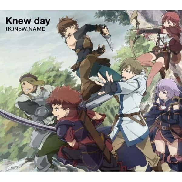 『(K)NoW_NAME - Knew Day』収録の『Knew Day』ジャケット