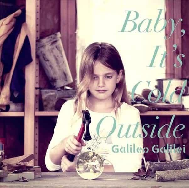 『Galileo Galilei - コウモリかモグラ』収録の『Baby, It's Cold Outside』ジャケット