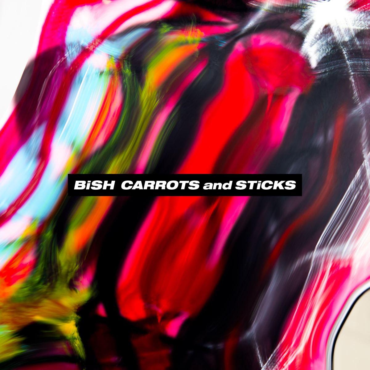 『BiSH - MORE THAN LiKE』収録の『CARROTS and STiCKS』ジャケット