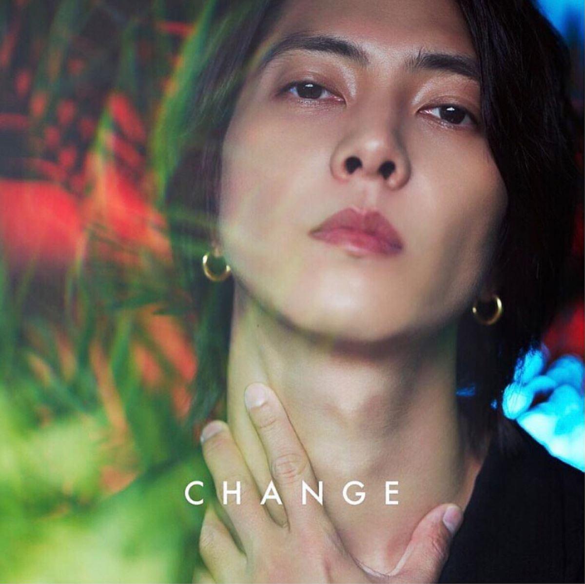 『山下智久 - CHANGE 歌詞』収録の『CHANGE』ジャケット