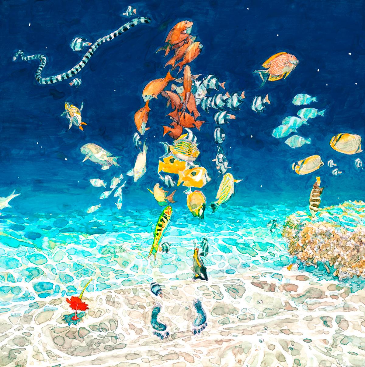 『米津玄師 - 海の幽霊』収録の『海の幽霊』ジャケット