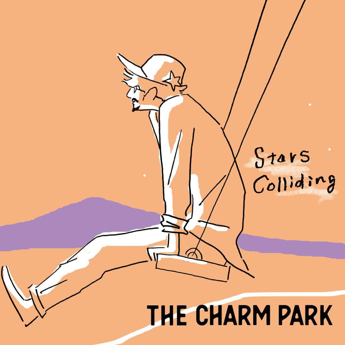 『THE CHARM PARK - Stars Colliding』収録の『Stars Colliding』ジャケット