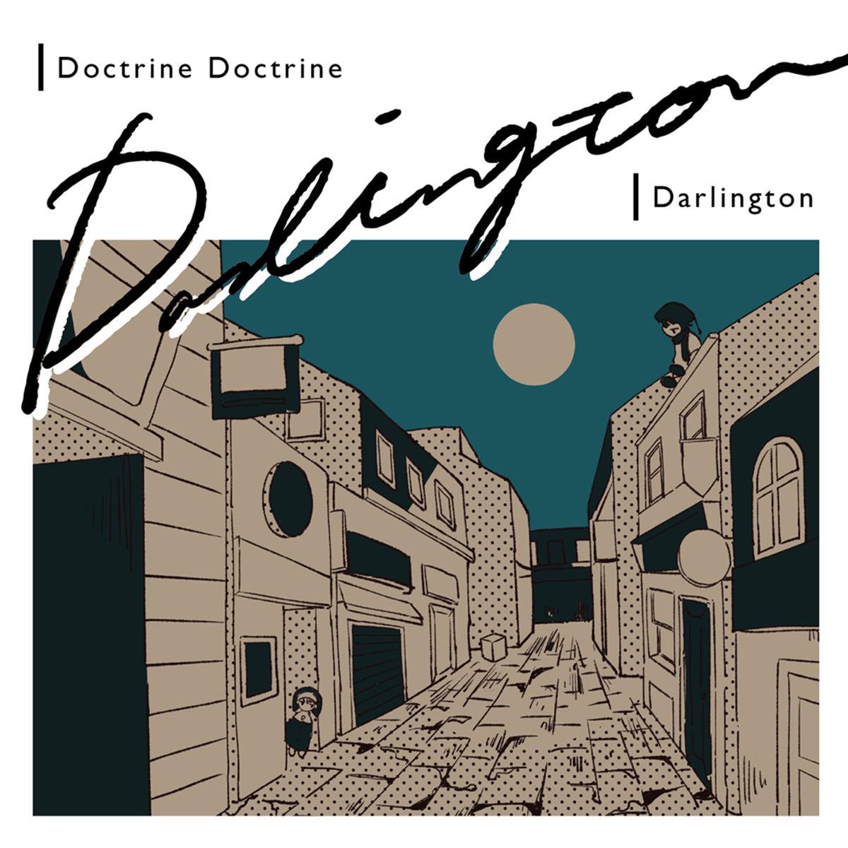 『Doctrine Doctrine - ヌギレヌ』収録の『Darlington』ジャケット