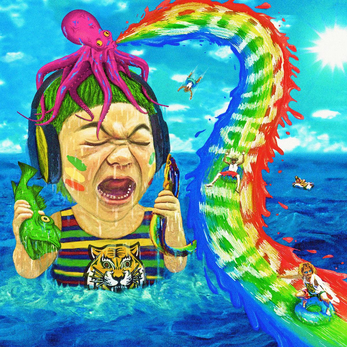 『WANIMA - Mom』収録の『Summer Trap!!』ジャケット