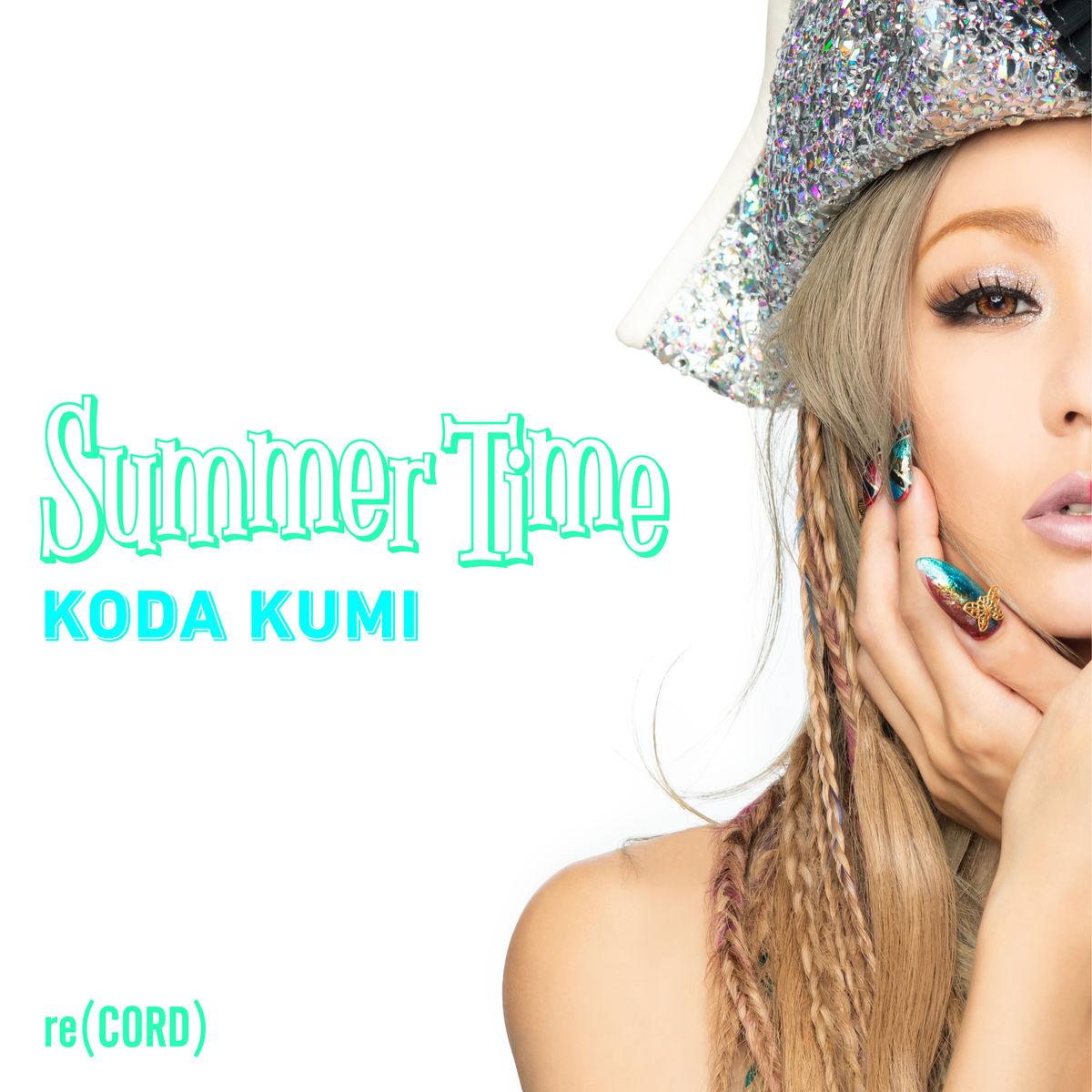 『倖田來未 - Summer Time』収録の『Summer Time』ジャケット