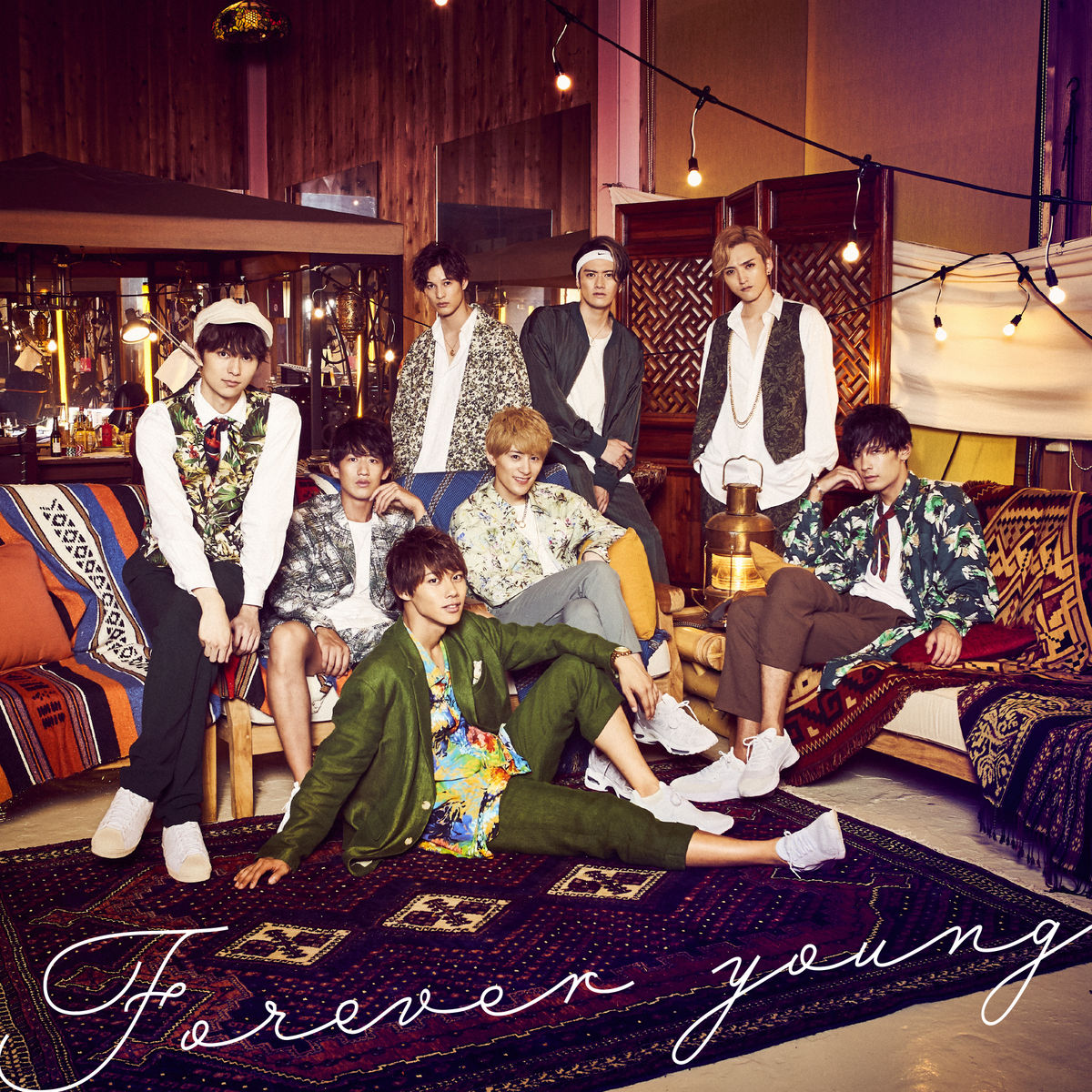 『SOLIDEMO - Forever young』収録の『Forever young』ジャケット