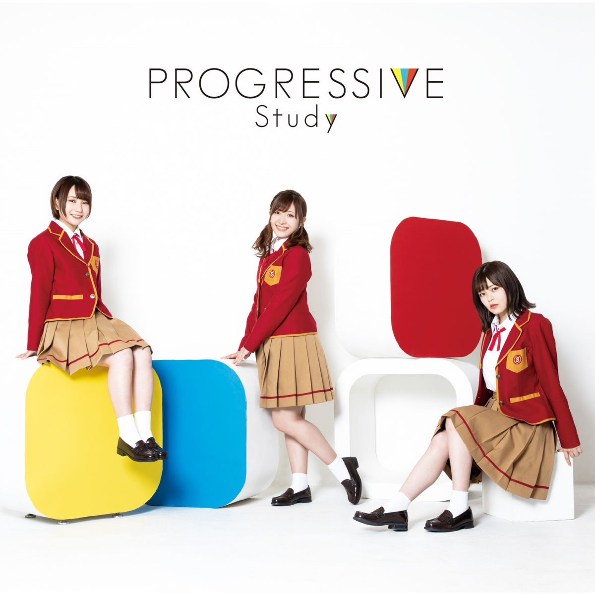 『Study - ready STUDY go!』収録の『PROGRESSIVE』ジャケット