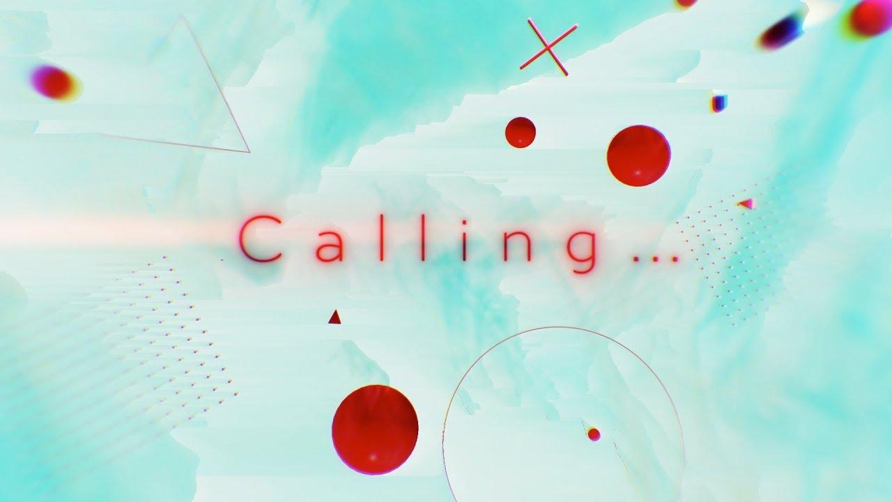 『悲撃のヒロイン症候群 - Calling...』収録の『Calling...』ジャケット