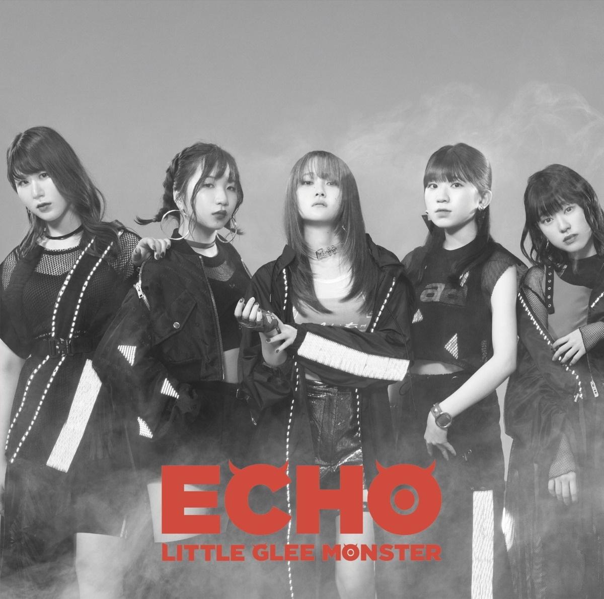 『Little Glee Monster - ECHO』収録の『ECHO』ジャケット