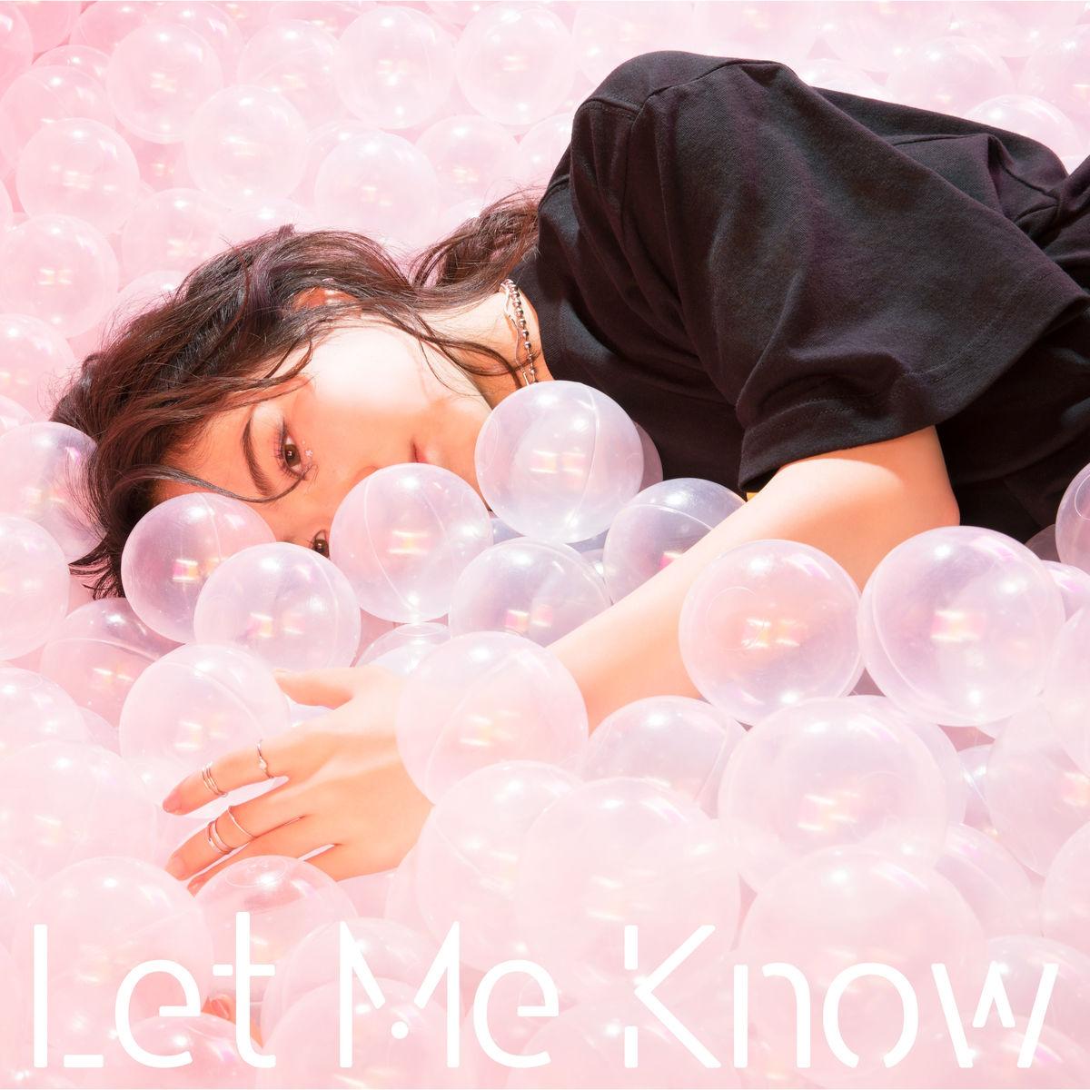 『當山みれい - Let Me Know』収録の『Let Me Know』ジャケット