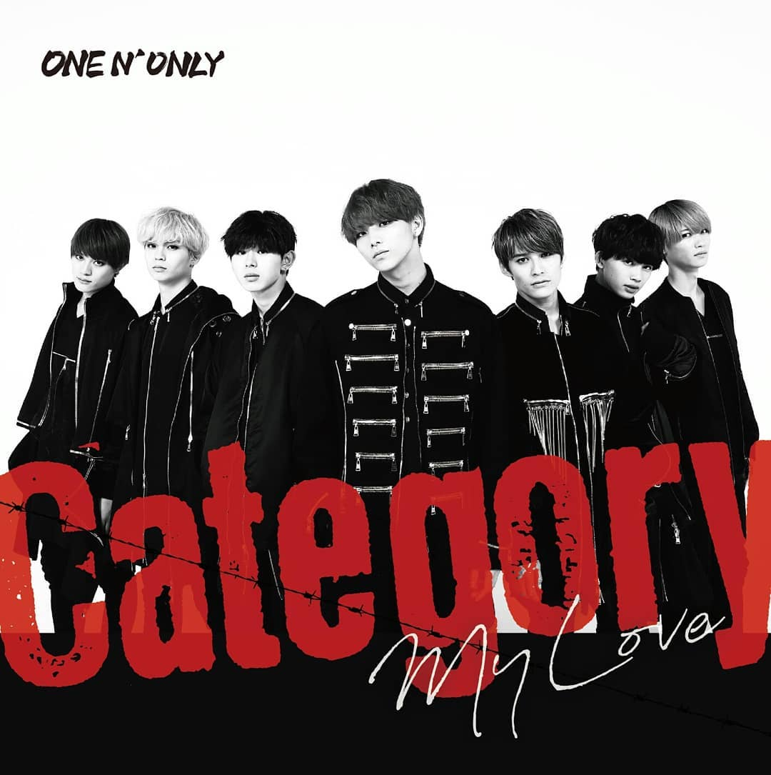 『ONE N' ONLY - LA DI DA』収録の『Category / My Love』ジャケット
