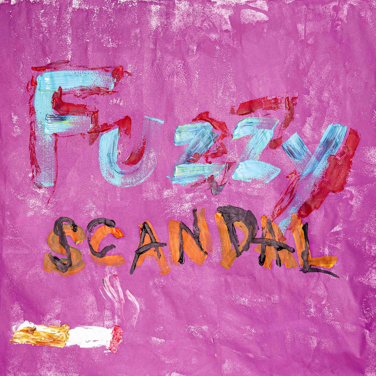 『SCANDAL - Fuzzy』収録の『Fuzzy』ジャケット