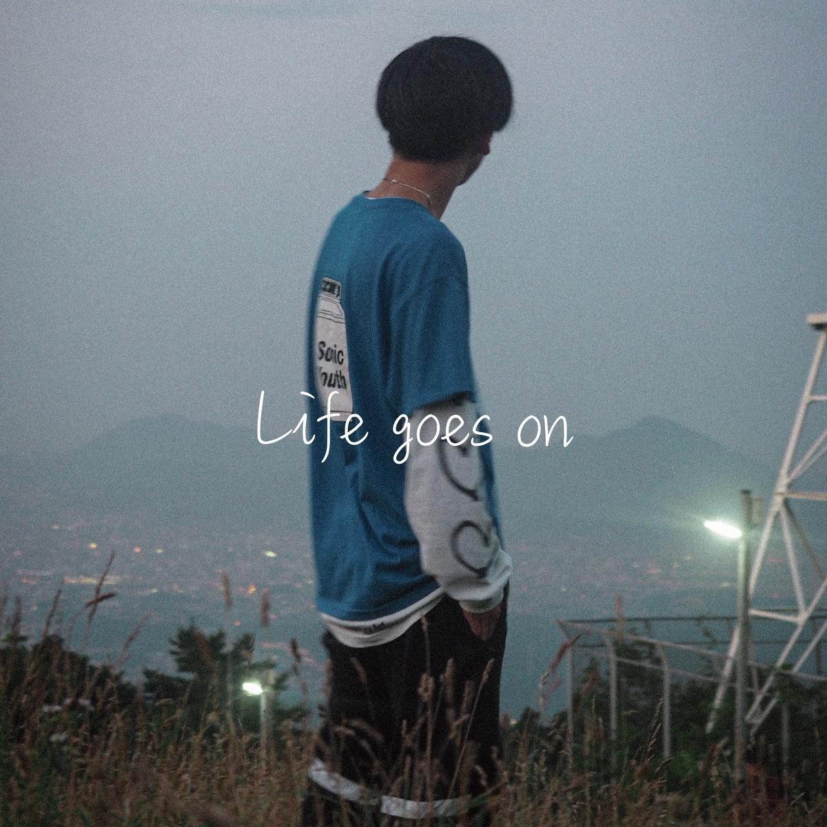 『さなり - Life goes on』収録の『Life goes on』ジャケット