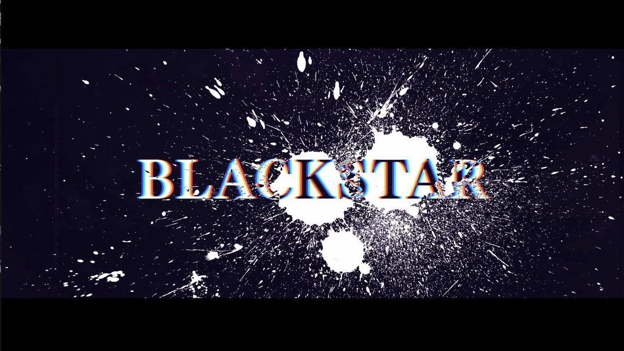 『晶(小林太郎) - BLACKSTAR』収録の『BLACKSTAR』ジャケット