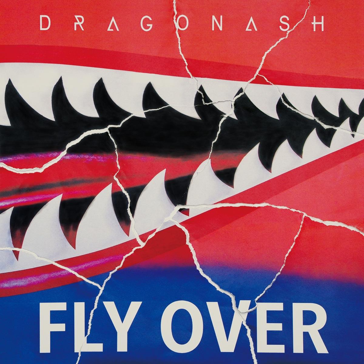 『Dragon Ash - Fly Over feat. T$UYO$HI』収録の『Fly Over feat. T$UYO$HI』ジャケット