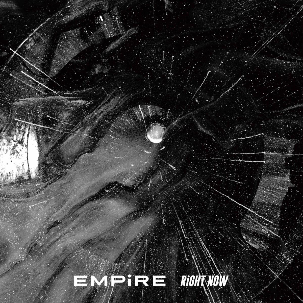 『EMPiRE - RiGHT NOW』収録の『RiGHT NOW』ジャケット