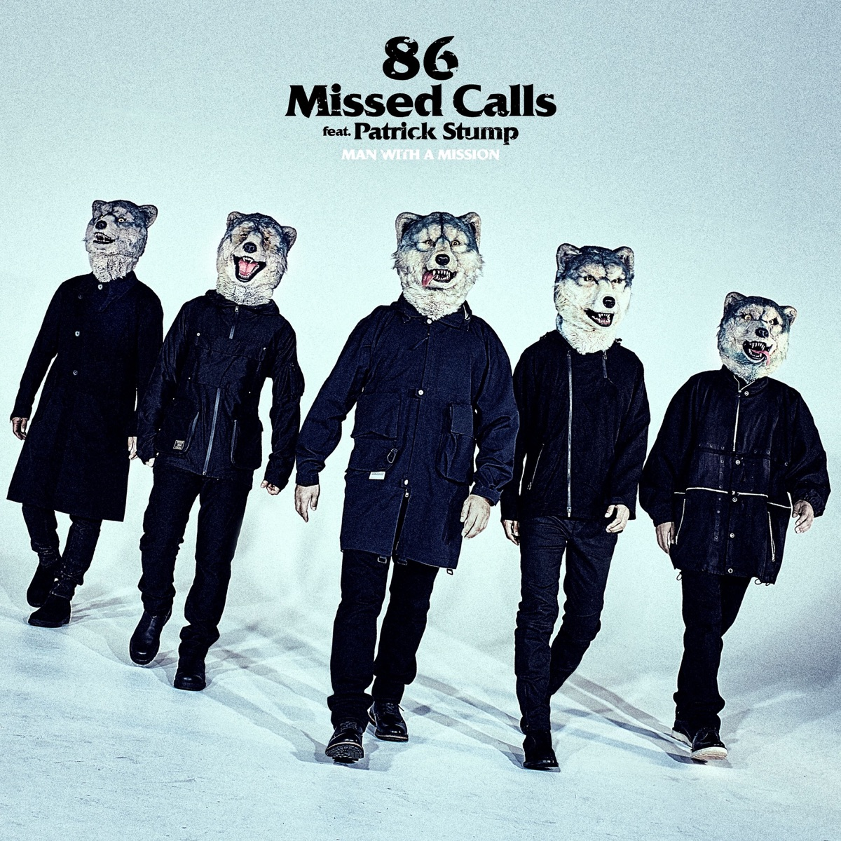 『MAN WITH A MISSION - 86 Missed Calls feat. Patrick Stump』収録の『86 Missed Calls feat. Patrick Stump』ジャケット