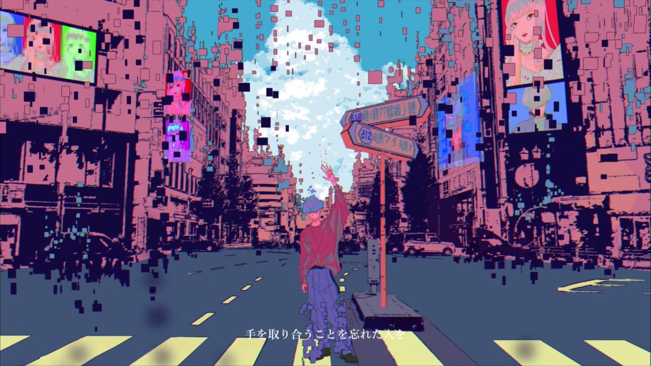 『堂村璃羽 - もしも明日世界が終わるなら feat. uyuni』収録の『もしも明日世界が終わるなら feat. uyuni』ジャケット