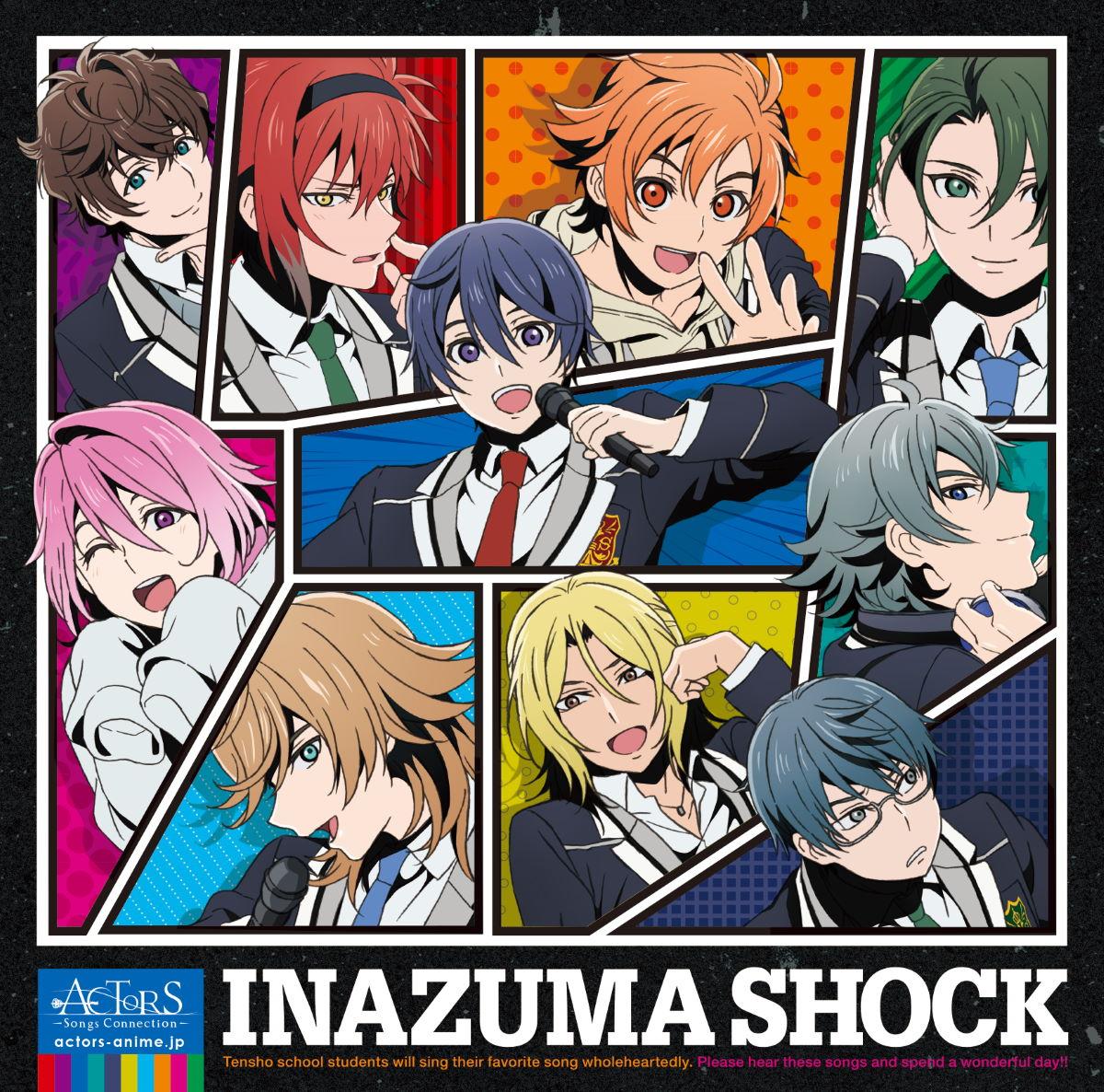 『サクタスケ - INAZUMA SHOCK』収録の『INAZUMA SHOCK』ジャケット