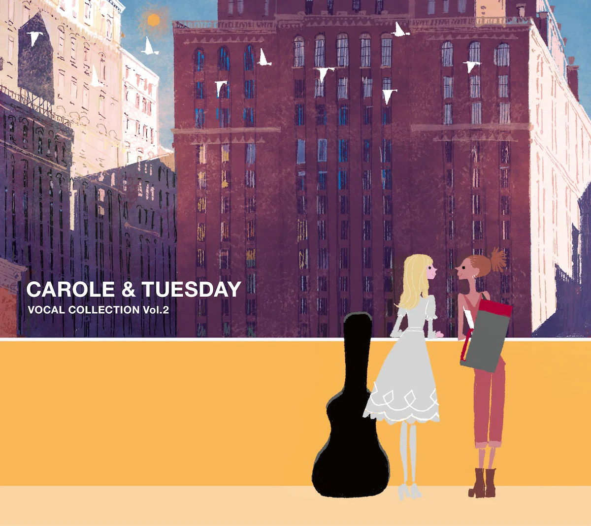 『VOICES FROM MARSMother』収録の『CAROLE & TUESDAY VOCAL COLLECTION Vol.2』ジャケット