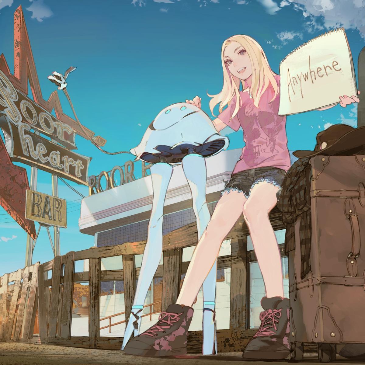 『FUZI × MAAS - Hello Dust Town』収録の『Hello Dust Town』ジャケット