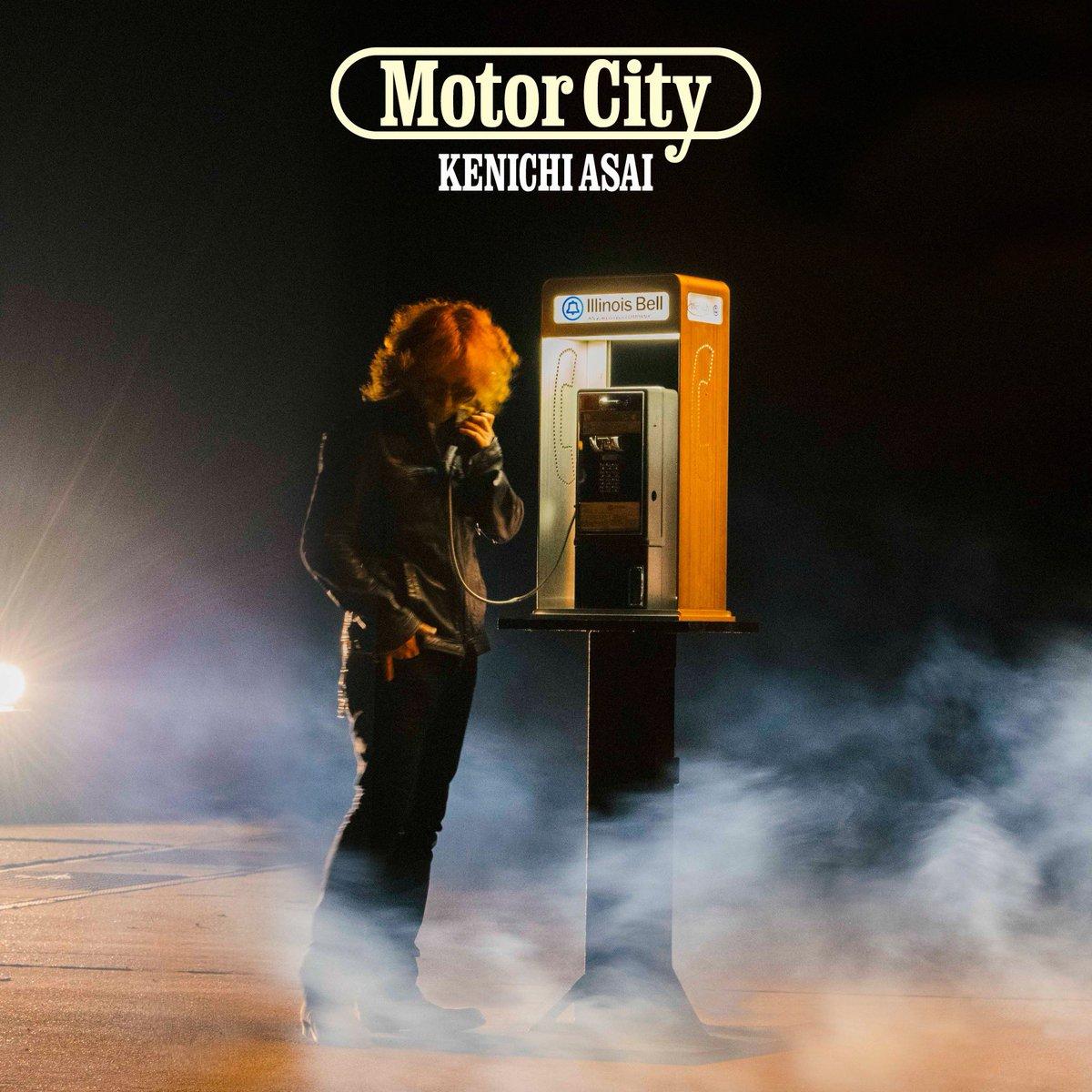 『浅井健一 - MOTOR CITY』収録の『MOTOR CITY』ジャケット