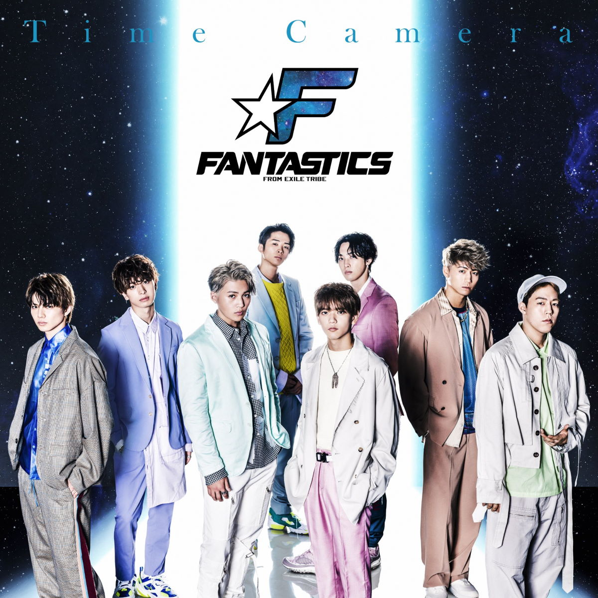 『FANTASTICS from EXILE TRIBE - Time Camera』収録の『Time Camera』ジャケット