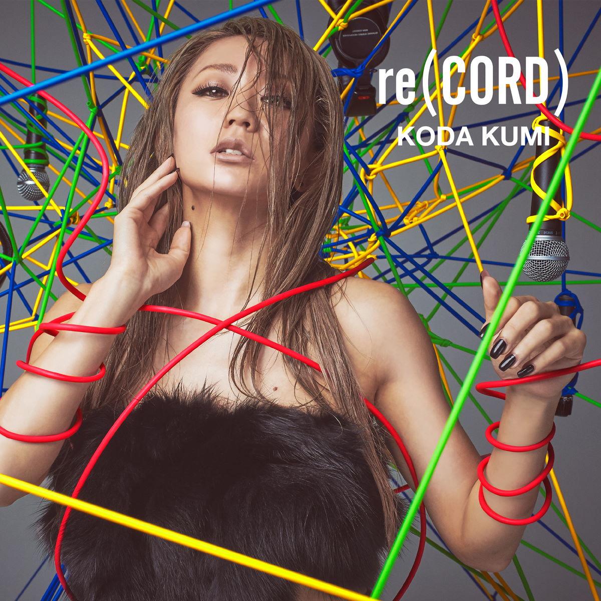 『倖田來未 - Eh Yo -re(CORD) edit-』収録の『re(CORD)』ジャケット