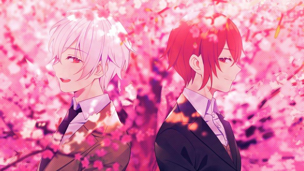 『あほの坂田×まふまふ - 夜桜』収録の『夜桜』ジャケット