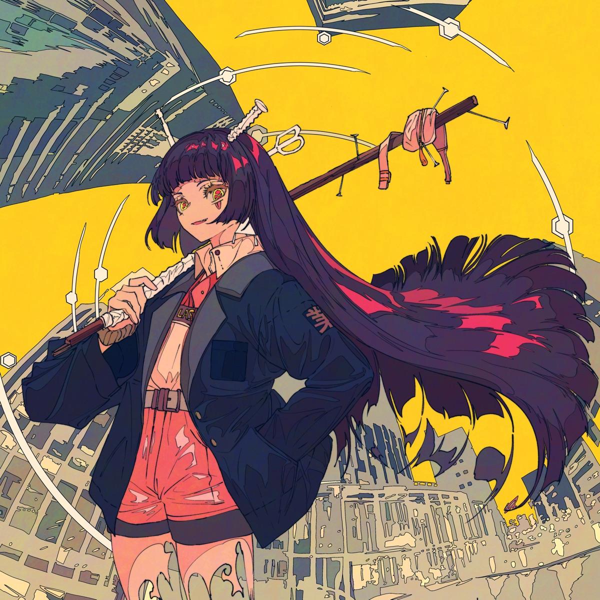 『Ayase - 夜撫でるメノウ』収録の『幽霊東京』ジャケット