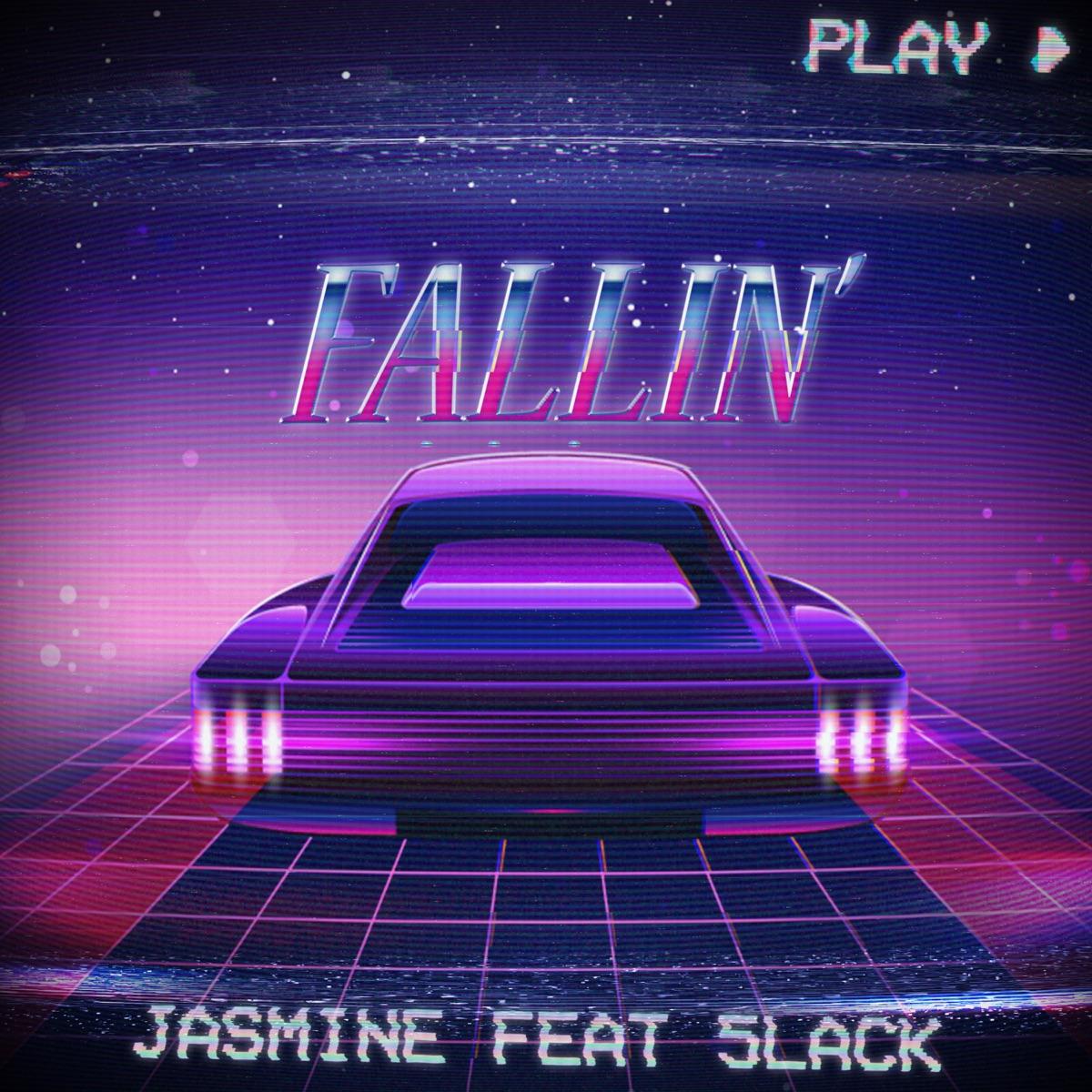 『JASMINEFALLIN' feat. 5lack』収録の『FALLIN' feat. 5lack』ジャケット