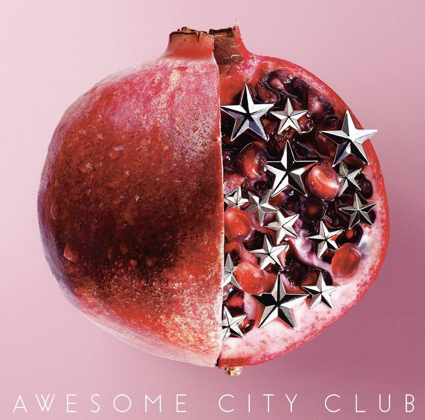 『Awesome City Club - ブルージー 歌詞』収録の『ブルージー』ジャケット