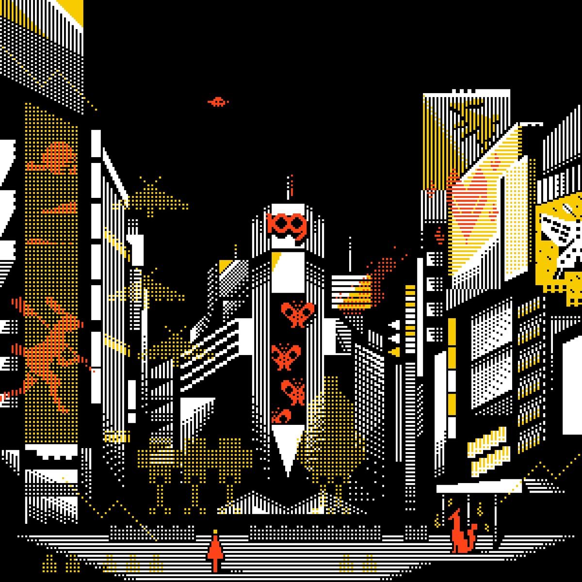 『DAOKO - 御伽の街』収録の『御伽の街』ジャケット