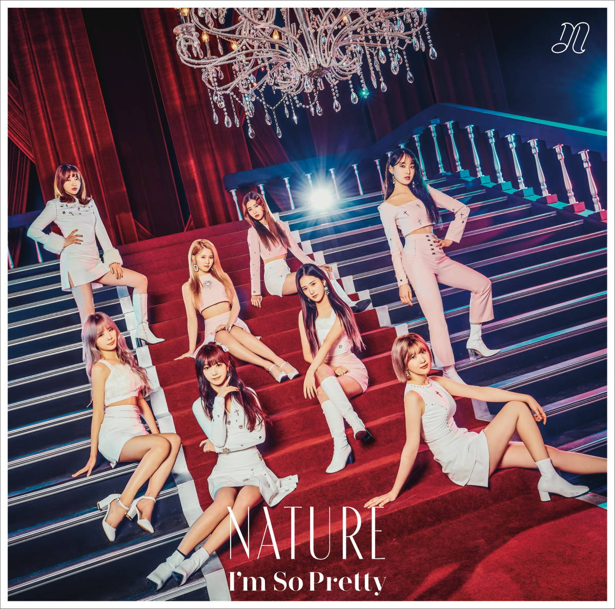 『NATURE - OOPSIE (My Bad) -Japanese ver.-』収録の『I'm So Pretty -Japanese ver.-』ジャケット