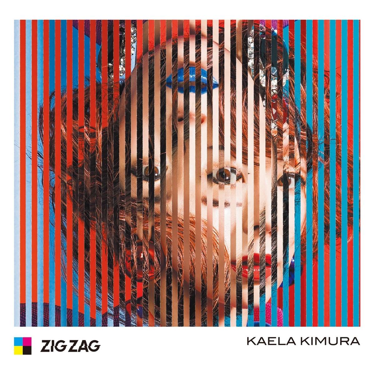 『木村カエラ Wish upon a star 歌詞』収録の『ZIG ZAG』ジャケット