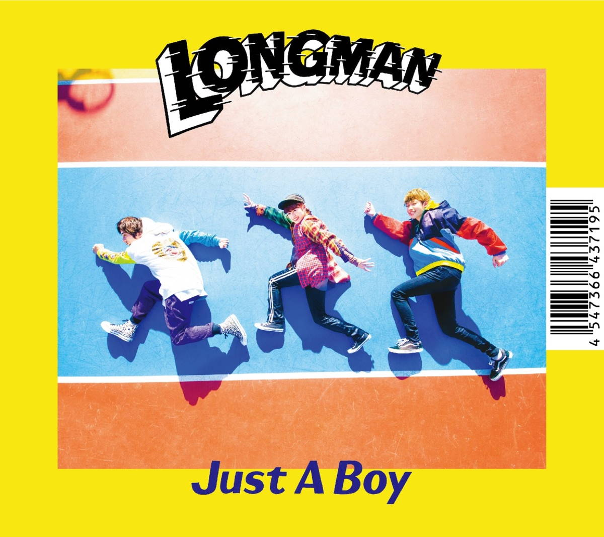 『LONGMAN - Replay』収録の『Just A Boy』ジャケット