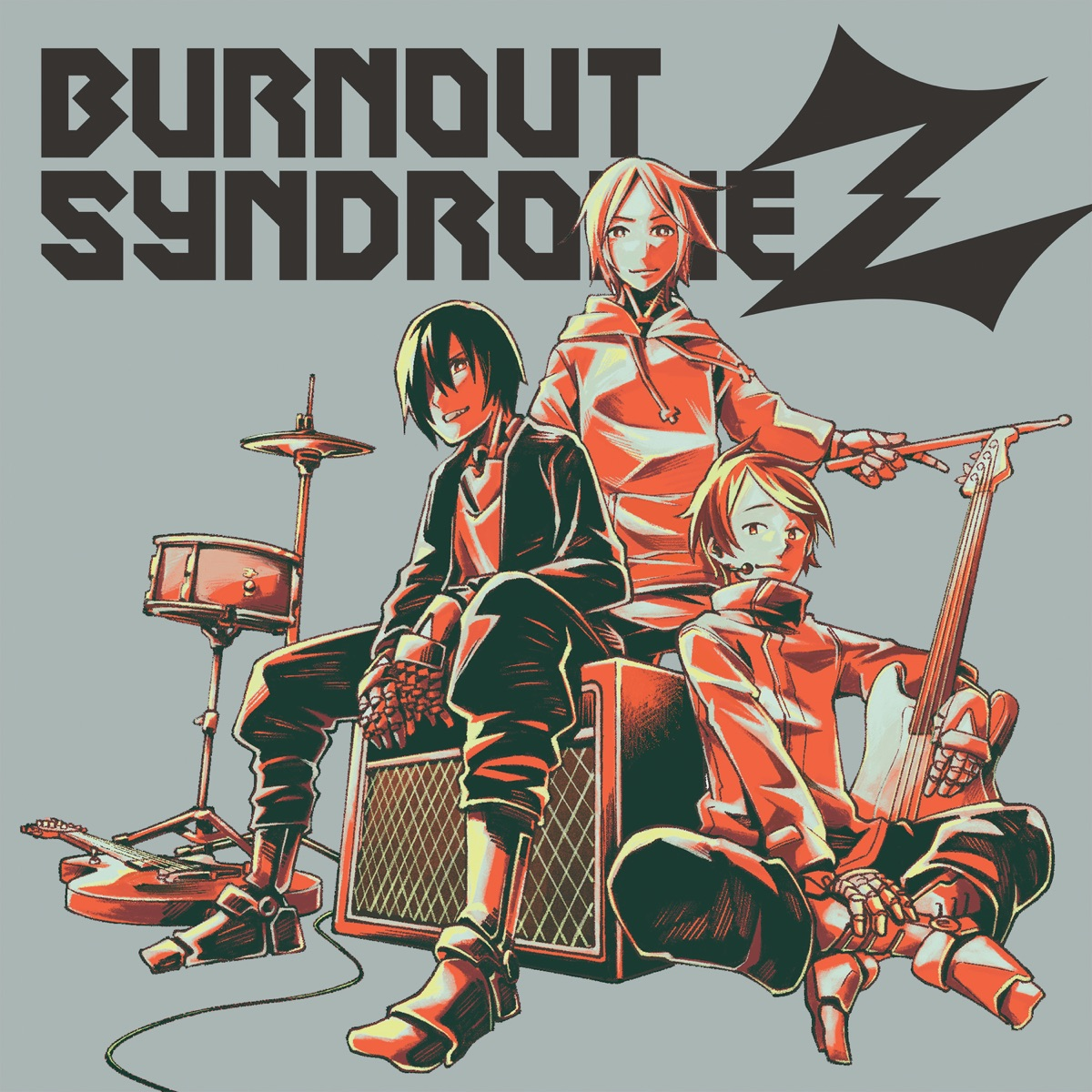 『BURNOUT SYNDROMESDream On!!』収録の『BURNOUT SYNDROMEZ』ジャケット