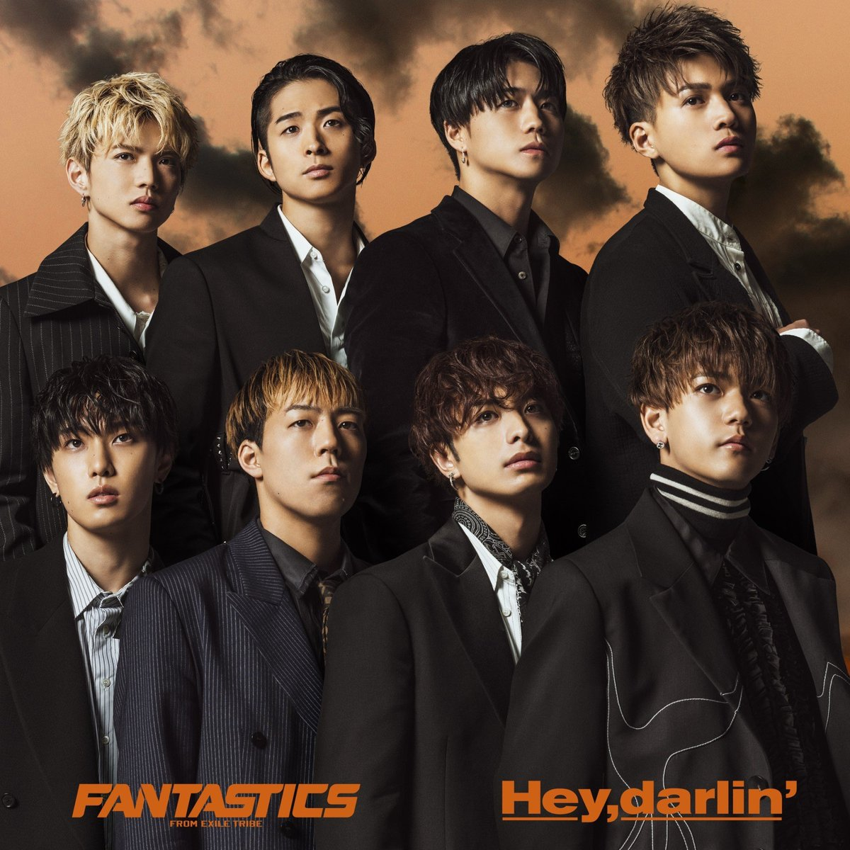 『FANTASTICS from EXILE TRIBE - The Only One』収録の『Hey, darlin'』ジャケット