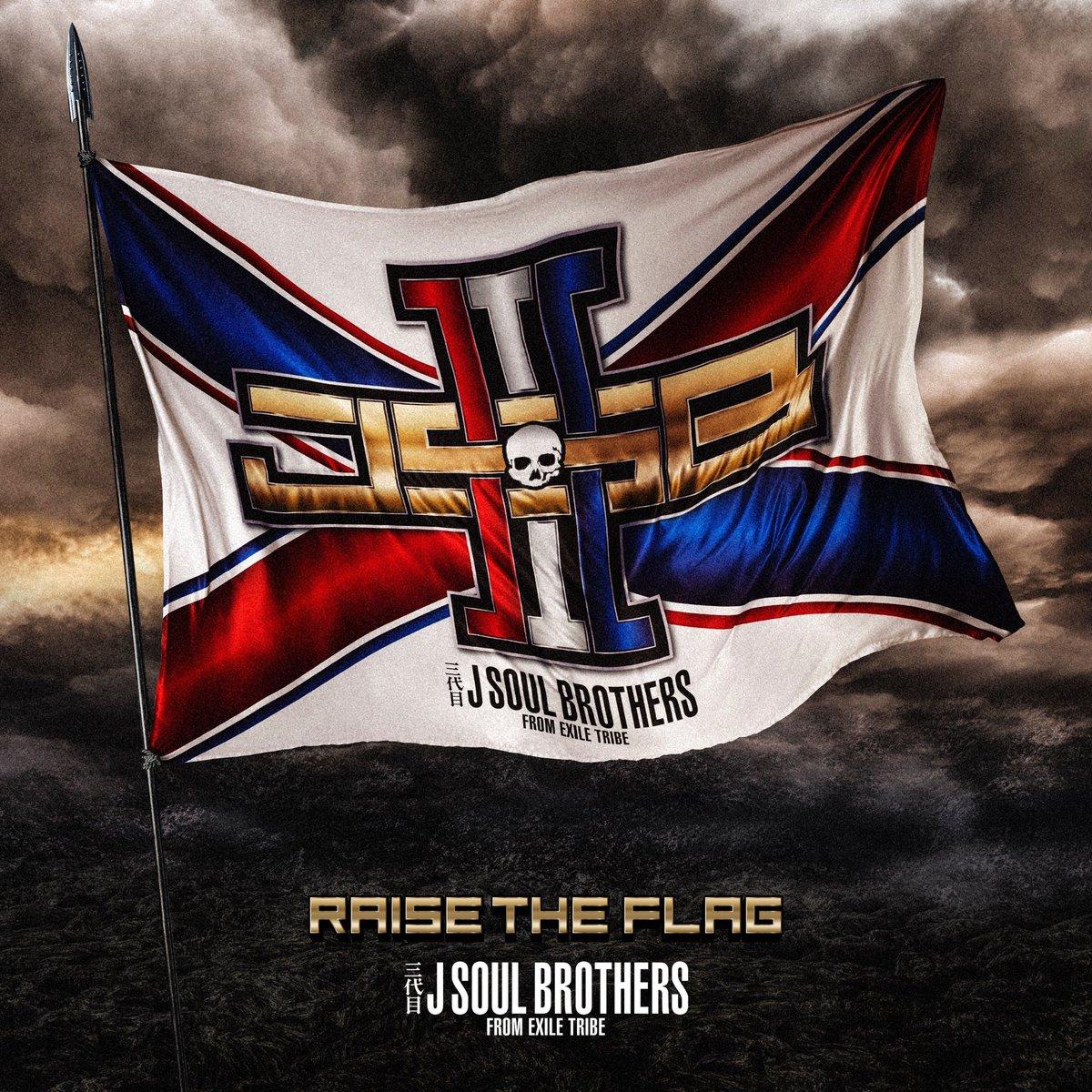 『東京』収録の『RAISE THE FLAG』ジャケット