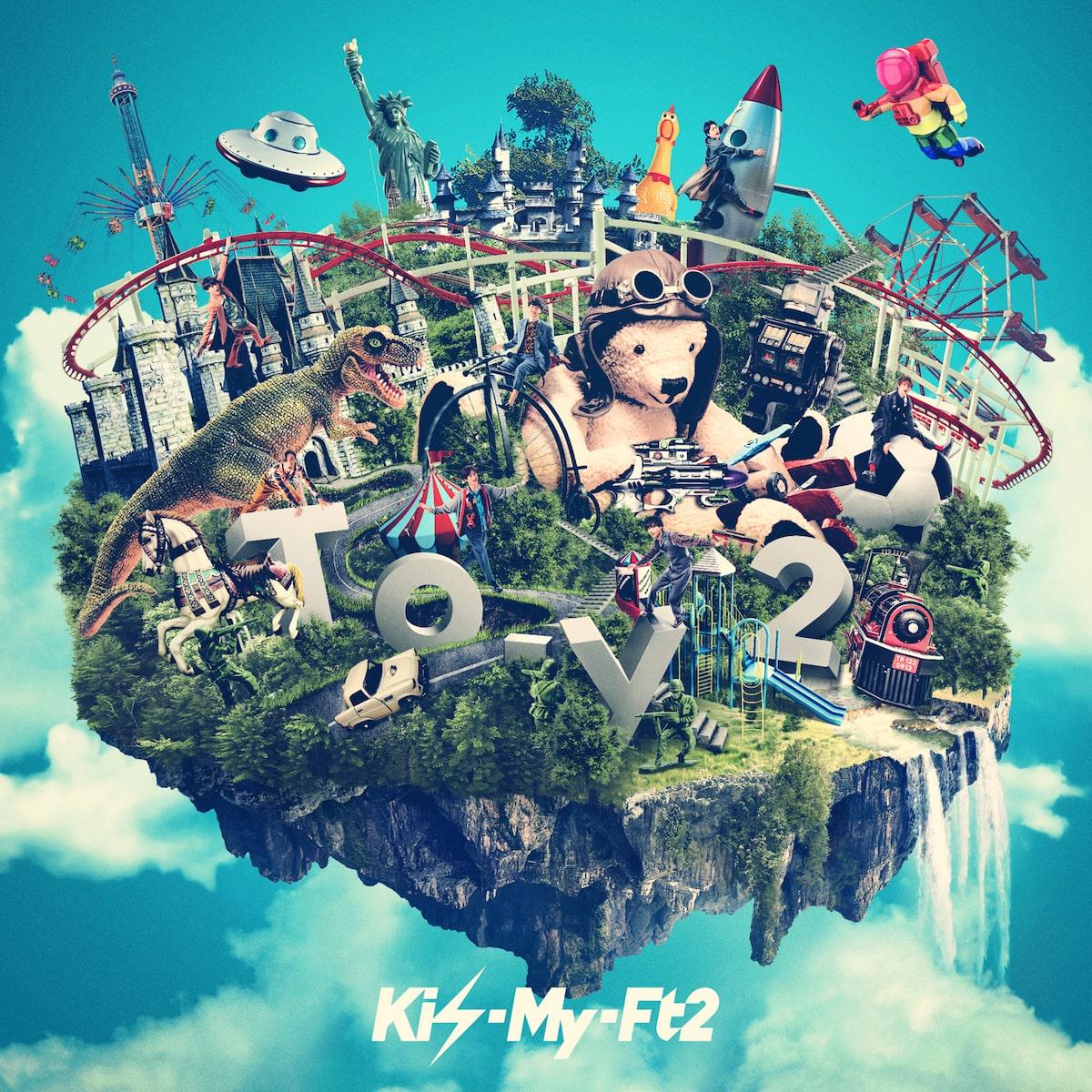 『Kis-My-Ft2 - Cannonball 歌詞』収録の『To-y2』ジャケット