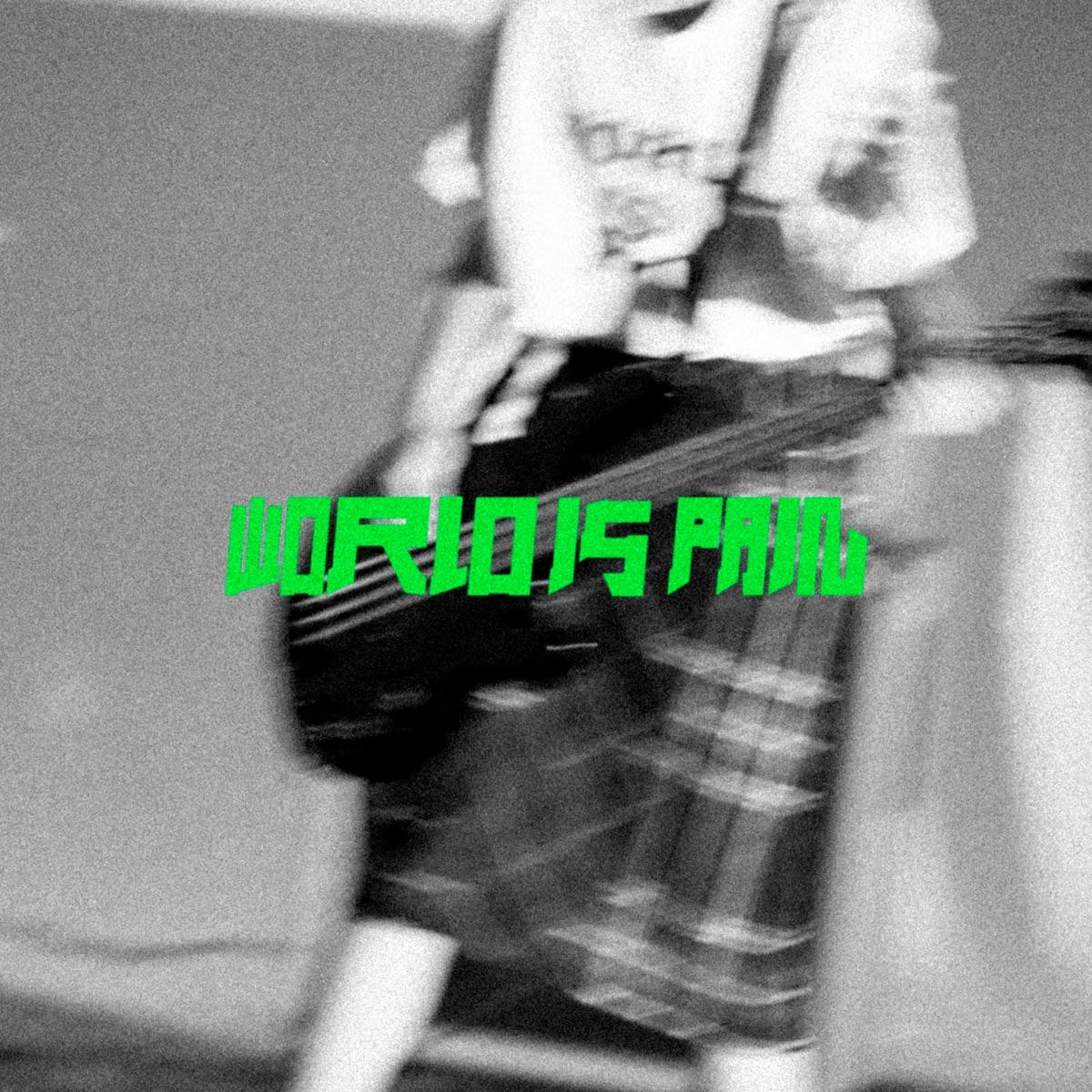 『PEDRO - WORLD IS PAIN 歌詞』収録の『WORLD IS PAIN』ジャケット