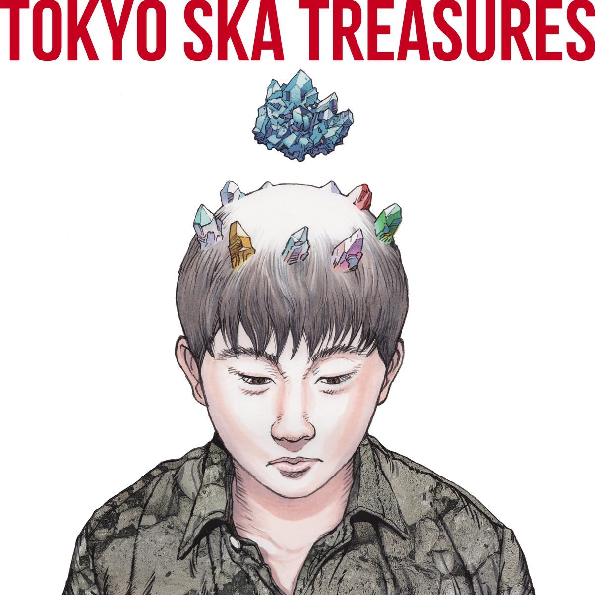 『Good Morning~ブルー・デイジー feat. aiko』収録の『TOKYO SKA TREASURES ~ベスト・オブ・東京スカパラダイスオーケストラ~』ジャケット