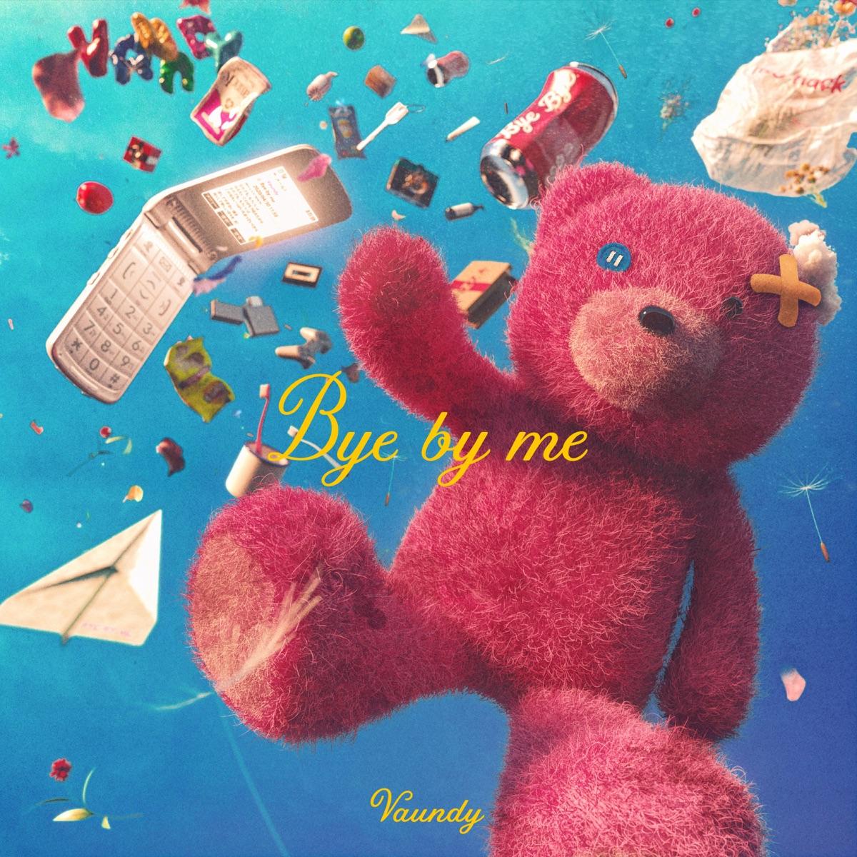 『Vaundy - Bye by me』収録の『Bye by me』ジャケット